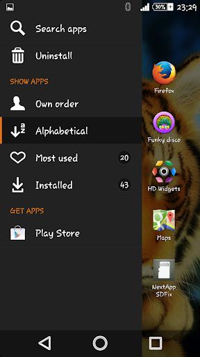 Silent Beast Xperien Theme screenshot 2