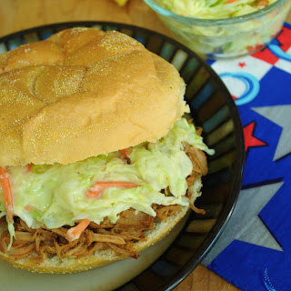 Tangy Pulled Pork with Crispy Slaw
