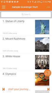 Flye Scavenger Hunt App - náhled