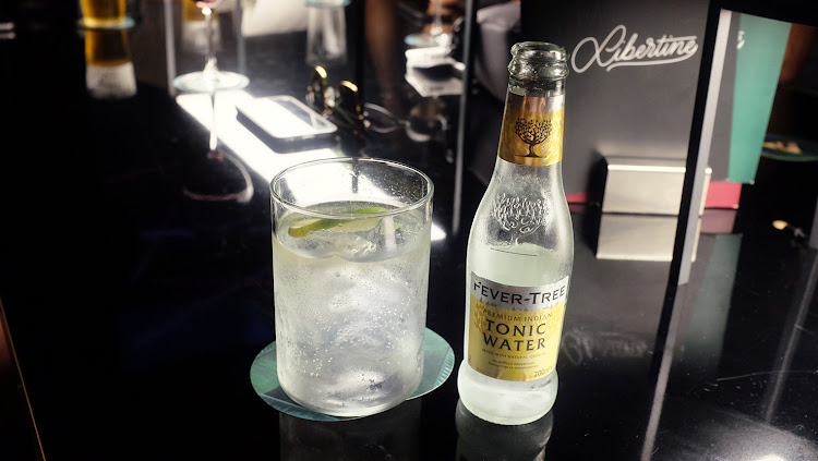 Xoriguer Mahón gin and tonic at the Libertine Bar