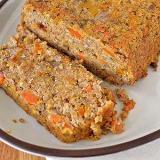 Butternut Squash, Carrot & Quinoa Nut Roast GF