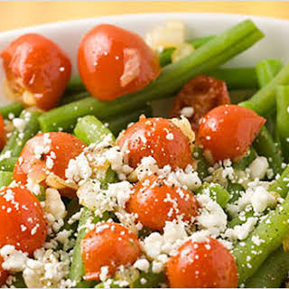 Warm Green Bean Salad.