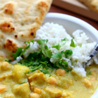 Instant Pot Yellow Chicken Curry and Jasmine Rice Recipe