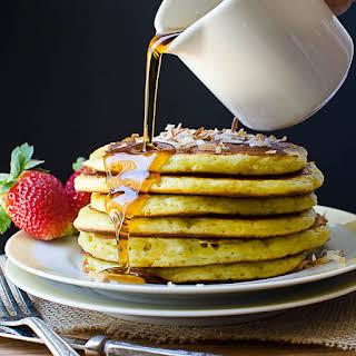 Coconut Orange Buttermilk Pancakes.