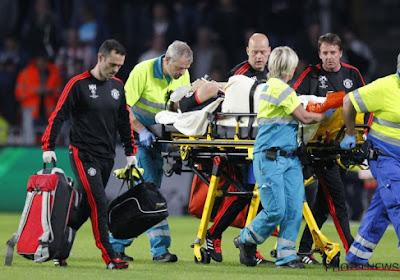 """? Man Utd-verdediger krijgt iedereen stil op persconferentie van Engeland: """"Ik was mijn been bijna verloren"""""""