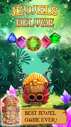 Jewels Deluxe - new mystery & classic match 3 free 3.2 screenshots 1
