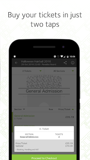 viagogo Tickets Screenshot