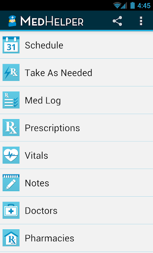 Med Helper Pill Reminder screenshot for Android