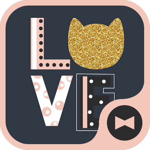 Cute Wallpaper LOVE CAT Theme Icon