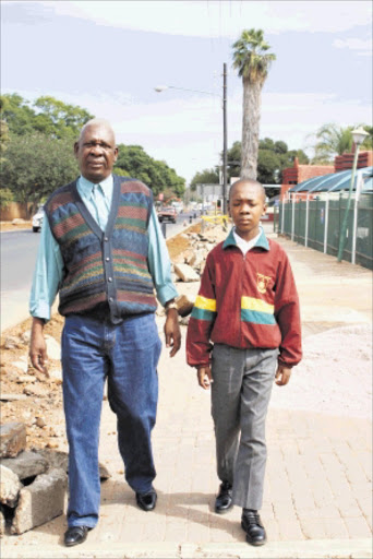 KICKER: Expelled Northern Academy Private School pupil Ngoako Dikgale, 12. Pic: CHESTER MAKANA. 08/05/2010. © Sowetan