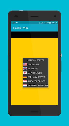 Ultrasurf Handler VPN screenshot 5