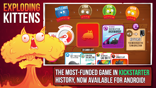 Exploding Kittens® – Official 3.3.1 MOD (Unlimited Money) 1