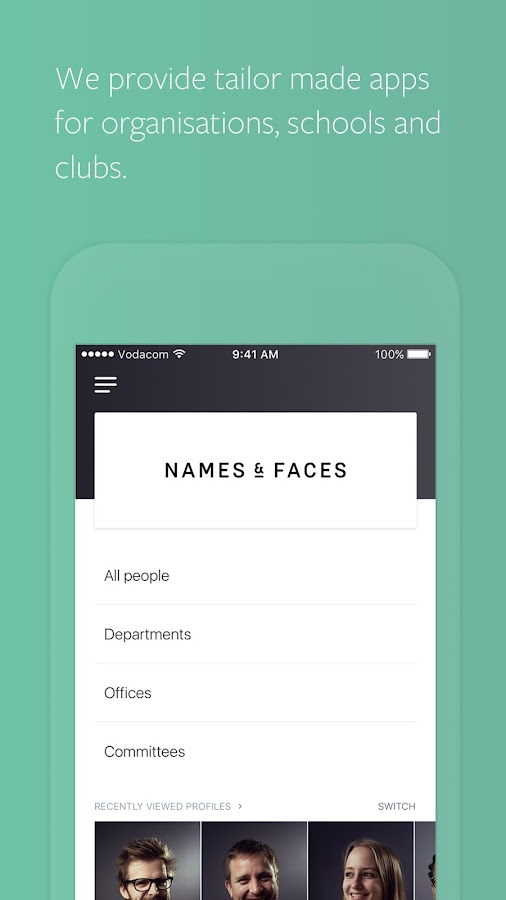Names & Faces- screenshot