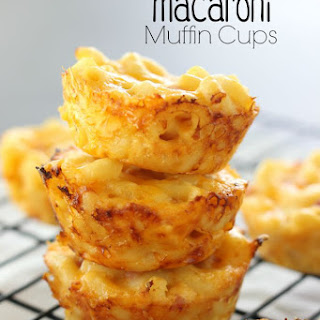 Ham & Cheese Macaroni Muffin Cups