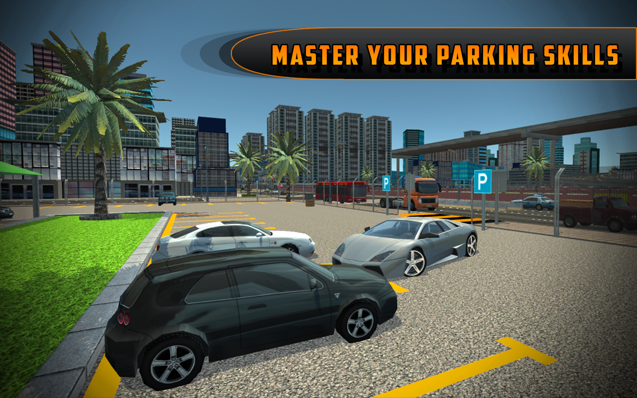 Driving School Simulator: City Car Parking 2017- screenshot