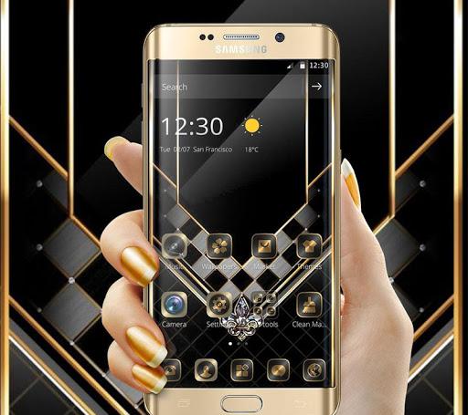 Gold Black Luxurious Theme 1.1.1 screenshots 4