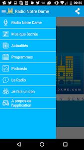 Radio Notre Dame - 100.7 FM screenshot 1