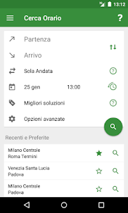 Train Timetable Italy PRO- screenshot thumbnail