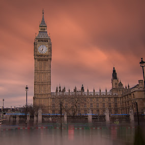 Westminster by Wira Suryawan - Buildings & Architecture Public & Historical ( amazing, england, london, dusk, bigben )