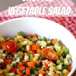 Chopped Vegetable Salad.