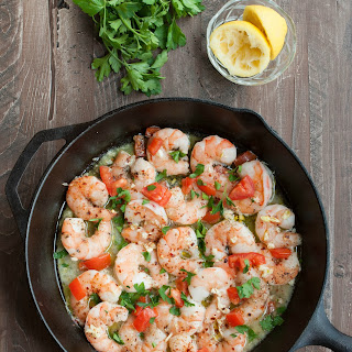 Garlic Shrimp {Paleo, Gluten Free}