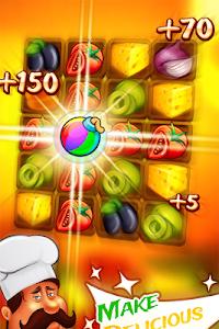 Match 3 Pizza: Kitchen Crash screenshot 1