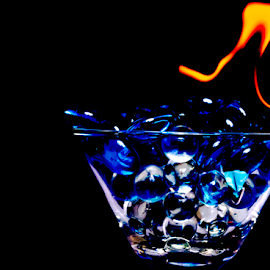 Fire Martini 111218 by Anthony Balzarini - Artistic Objects Other Objects ( #fire, #martiniphotography, #martini#, #firephotography )
