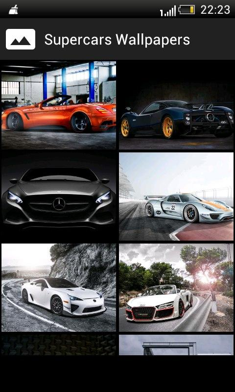 Super Cars HD  Wallpapers- screenshot