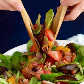 Strawberry Bacon Salad.