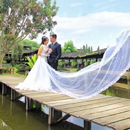 Jupiter & Triana by Joey Bangun - Wedding Bride ( wedding photography, wedding )