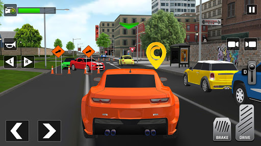 City Taxi Driving: Fun 3D Car Driver Simulator 1.2 screenshots 5