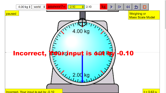 Read Weighing Scale Simulator - náhled