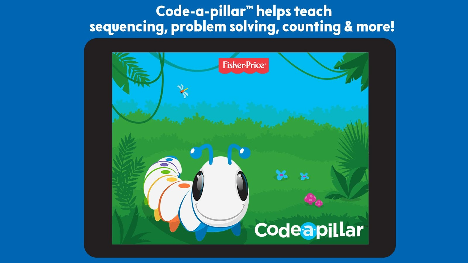 Learn code with Code A Pillar welcome screen.