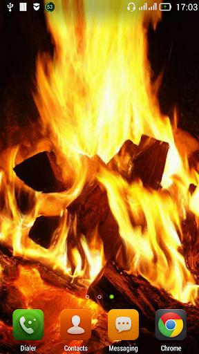 Huge bonfire LWP