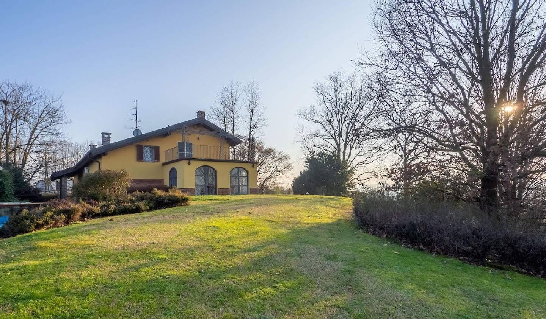 Villa avec jardin et terrasse Conzano