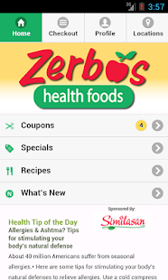 Zerbo's Health Foods- screenshot thumbnail