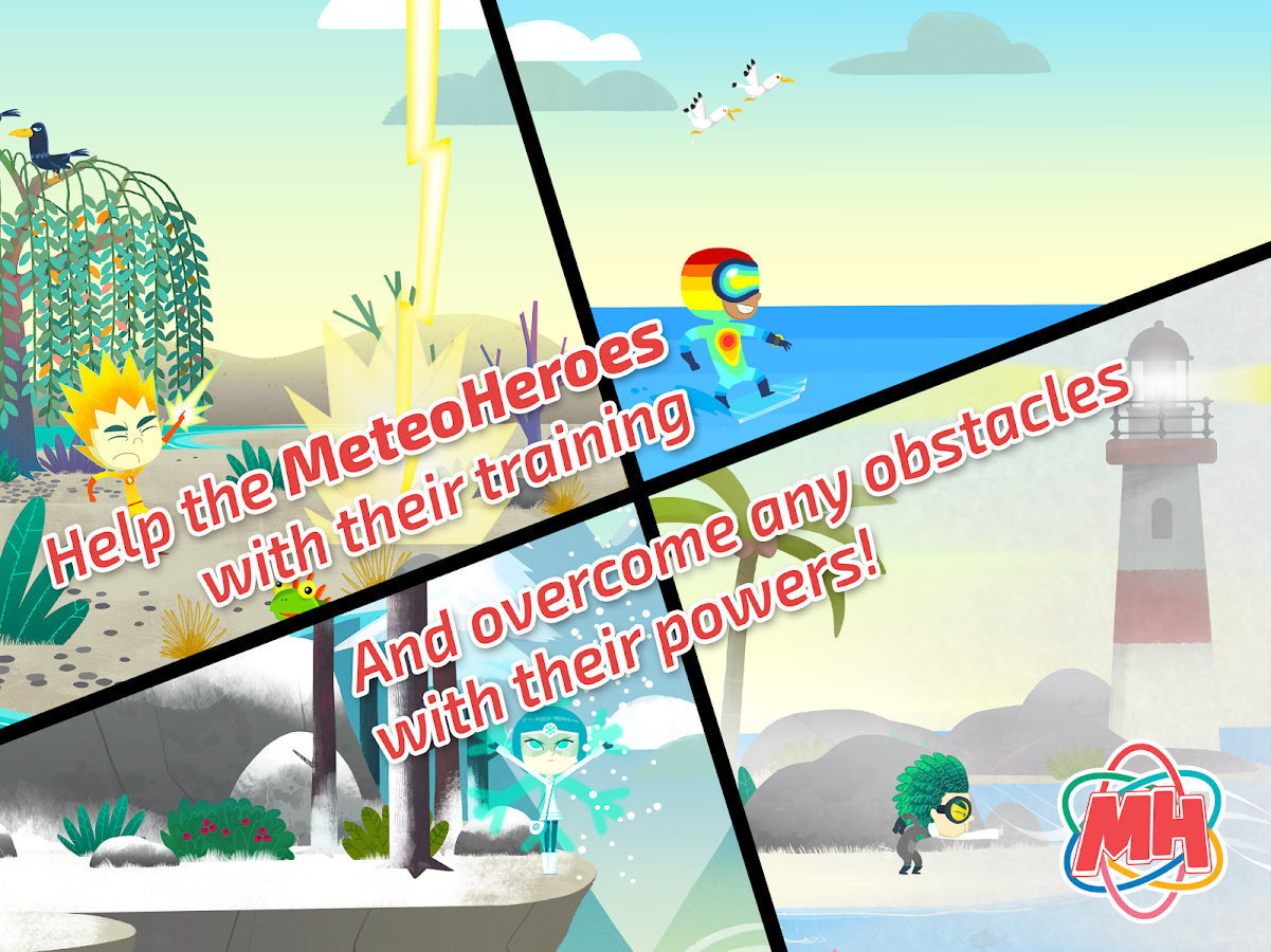 MeteoHeroes The Beginning- screenshot