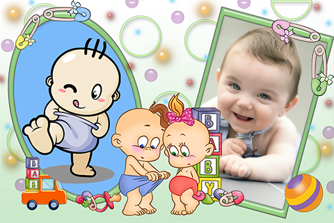 Happy Baby Photo Frames