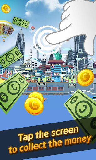 City Growing-Touch in the City( Clicker Games ) screenshot 2