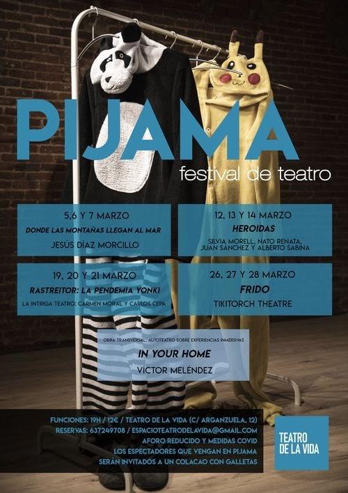 Festival de Teatro En Pijama