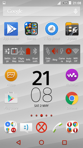 Simplicity Red XZ Theme