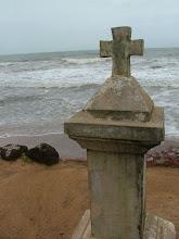Photo: anjuna - na goa katolicyzm przywieźli portugalczycy