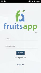 FruitsApp - náhled