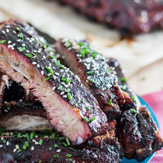 Hawaiian-Inspired Root Beer Sticky Ribs