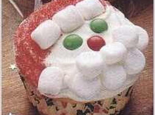 Merry Santa Cupcakes Recipe