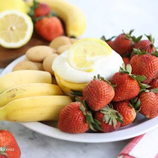 Lemonade Fruit Dip