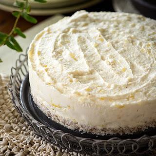 Raw Pineapple Coconut Vegan Cheesecake