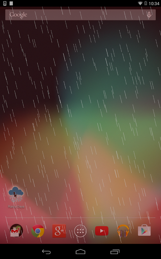 Rainy Days (Sound)- screenshot
