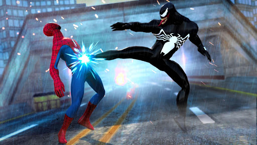 Grand Superhero Venom VS Spider Iron Hero Hunters 1.0 screenshots 1