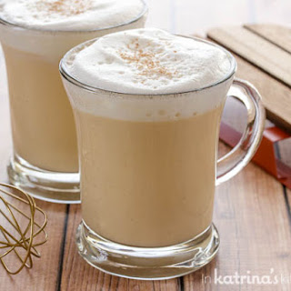 Eggnog Hot Chocolate.